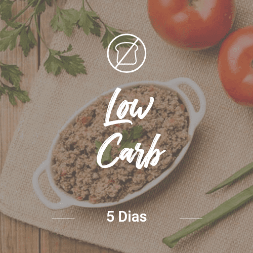 Low Carb – 5 dias (Dia Completo)