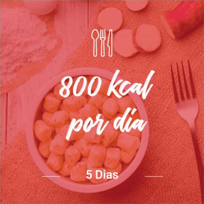 800 Kcal/dia – 5 dias (Dia Completo) V1
