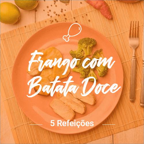 Frango com Batata Doce – 5 Refeições (Almoço ou Jantar)