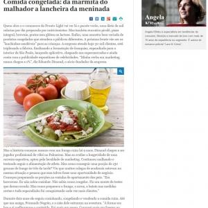 MATÉRIA BLUE CHIP - COMIDA CONGELADA SAUDÁVEL