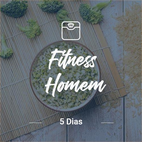 Fitness Homem – 5 dias (Dia Completo)