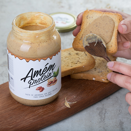 Amém Protein (Pasta de Amendoim)