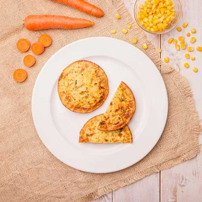 Pancake low carb frango