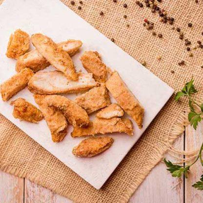 Frango empanado (assado sem glúten)