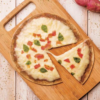 Pizza Marguerita – Massa Low Carb