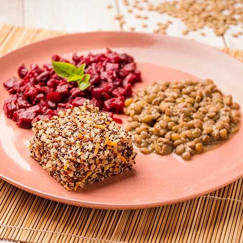 52 - Mix de quinoa + beterraba + lentilha