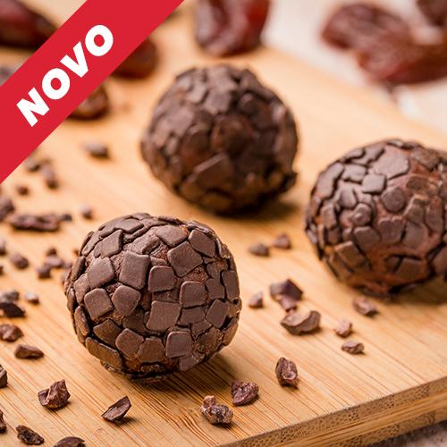 Brigadeiro de tâmara com chocolate belga