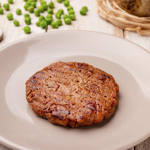 Hambúrguer plant based carne