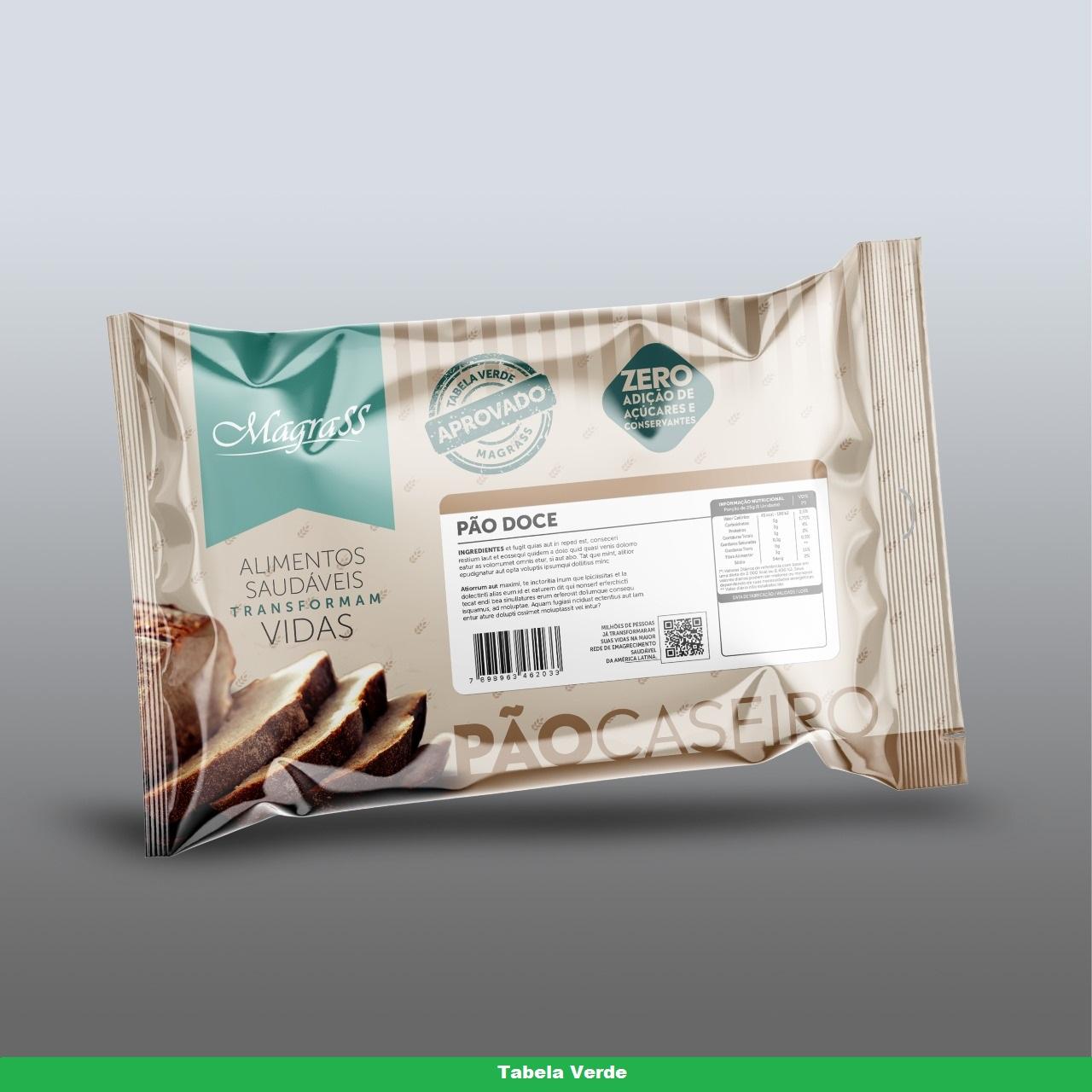 Pão doce zero açúcar Magrass (site)