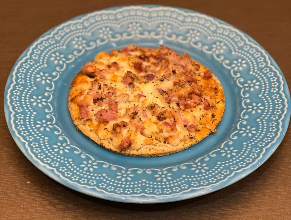 Pizza de bacon Magrass (site)