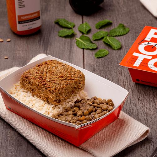 Express – Kibe + arroz integral + lentilha