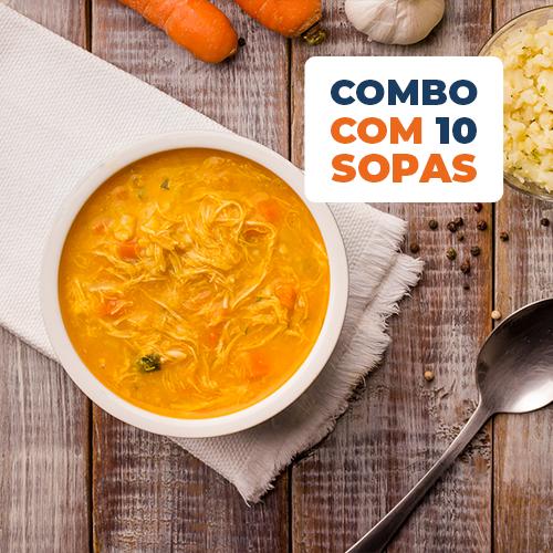 Kit Sopas - Combo 10 Sopas